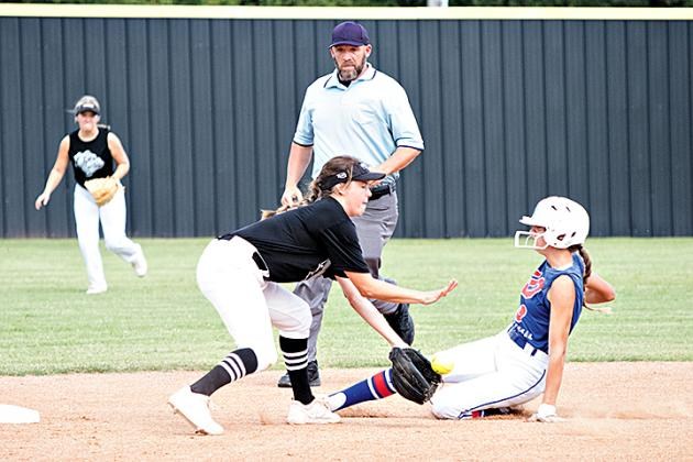 Action from recent area softball games