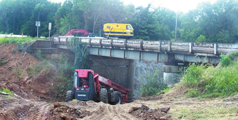 Bridge projects in Wellston and Stroud