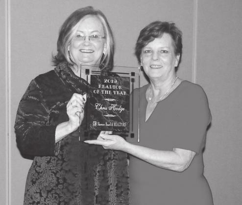 Hodge named Realtor of the Year