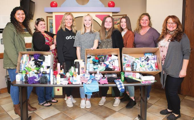 Stroud donations to foster families
