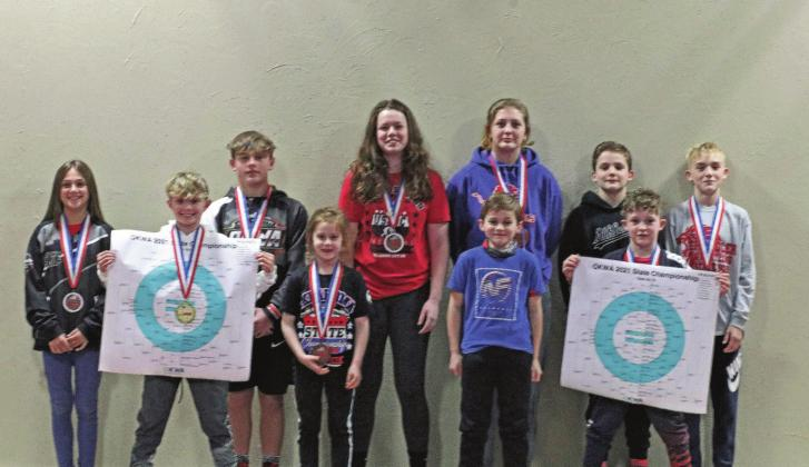 Chandler youth wrestlers compete at state